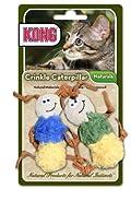 KONG Naturals Crinkle CATERPILLARS Cat Toy (CW45)