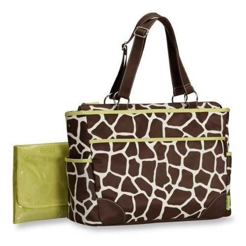 Imagen de Moda Carter bolsa de tela, estampado de girafa