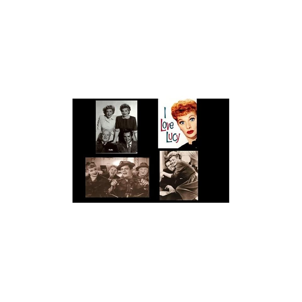 I Love Lucy, Lucille Ball Magnets, Set of Four
