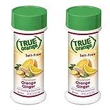 True Orange Ginger Seasoning (2 pack) Natural Ingredients, No Salt, No Gluten