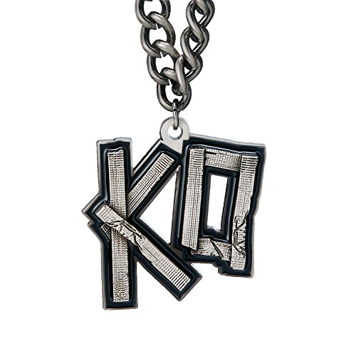 [Kevin Owens KO Pendant Necklace WWE Authentic] (Custom Wrestling Costumes)