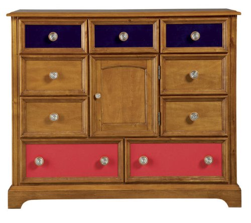 Cheap Pulaski Build-A-Bear Bearrific Kids Bureau Double Dresser in Cocoa (B002Q78VBU)