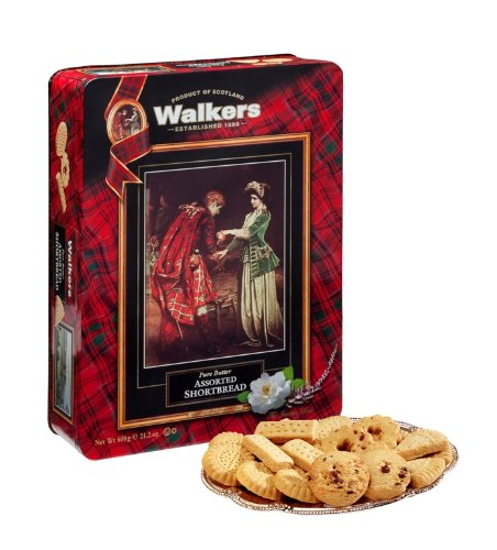 Walkers Shortbread Flora MacDonald Tin, 21.2-Ounce