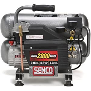 best price senco pc1131 compressor 2 5 horsepower peak 4 3 gallon