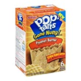 Kellogg's Gone Nutty Frosted Chocolate Peanut Butter Pop Tarts