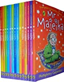 Humphrey Carpenter Mr Majeika Collection 14 Books Set RRP:£69.86(Mr Majeika,the School Trip,Mr Majeika and the Lost Spell Book,the Ghost Train, the Dinner Lady, the School Caretaker, the Music Teacher, the Haunted Hotel, the School Book Week, the Intern