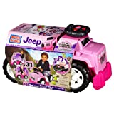 Mega Bloks Inc Mega Bloks - Ride-Ons - Jeep Ride-On (Girl)