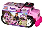 Mega Bloks 3-in-1 Jeep Ride On (Pink)