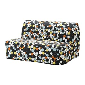 Ikea lycksele two seat sofa bed cover balsta for Sofa bed amazon uk