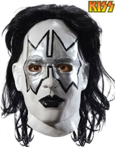 Adult Kiss Ace Frehley Spaceman Costume Deluxe Mask