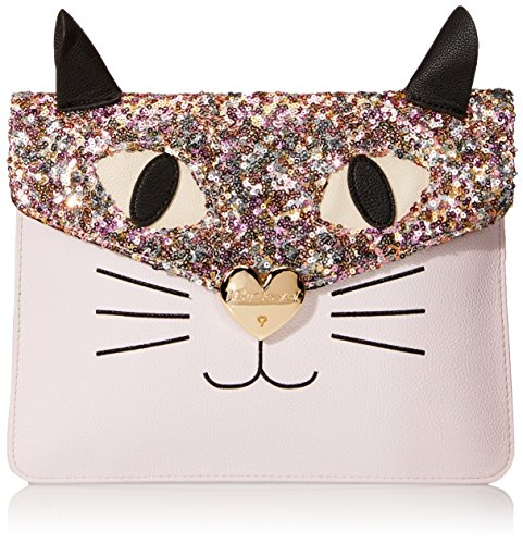 Betsey Johnson Cray Creatures Meow Clutch