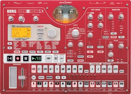 Best Review Of Korg ESX1SD Electribe Sampler Music Production Station