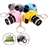 3x Camera LED Keychain with Sound (Pack of 3pcs)