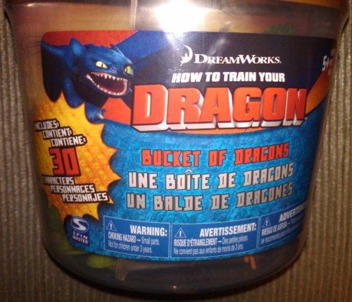 How To Train Your Dragon Movie Bucket of Dragons 30 Dragons