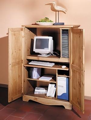 kommoden sideboards kieferm bel computerschrank pc schrank solido cs top preis. Black Bedroom Furniture Sets. Home Design Ideas