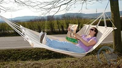 H?ngematte *Blanc* 180x100 cm von Import Unternehmens GmbH auf Gartenmöbel von Du und Dein Garten
