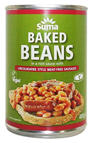 suma-baked-beans-and-vegan-sausage-400-g-pack-of-12