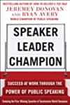 Speaker, Leader, Champion DIGITAL AUD...