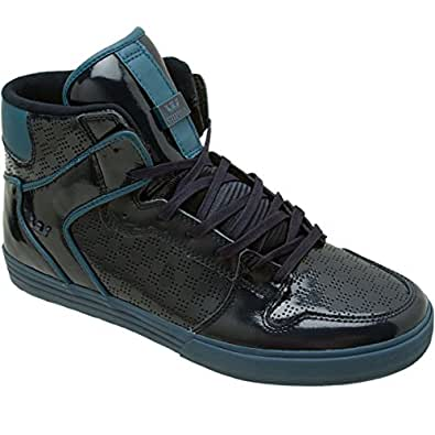 Amazon.com: Supra Vaider High Top Skate Shoe - Men's Midnight, 11.0