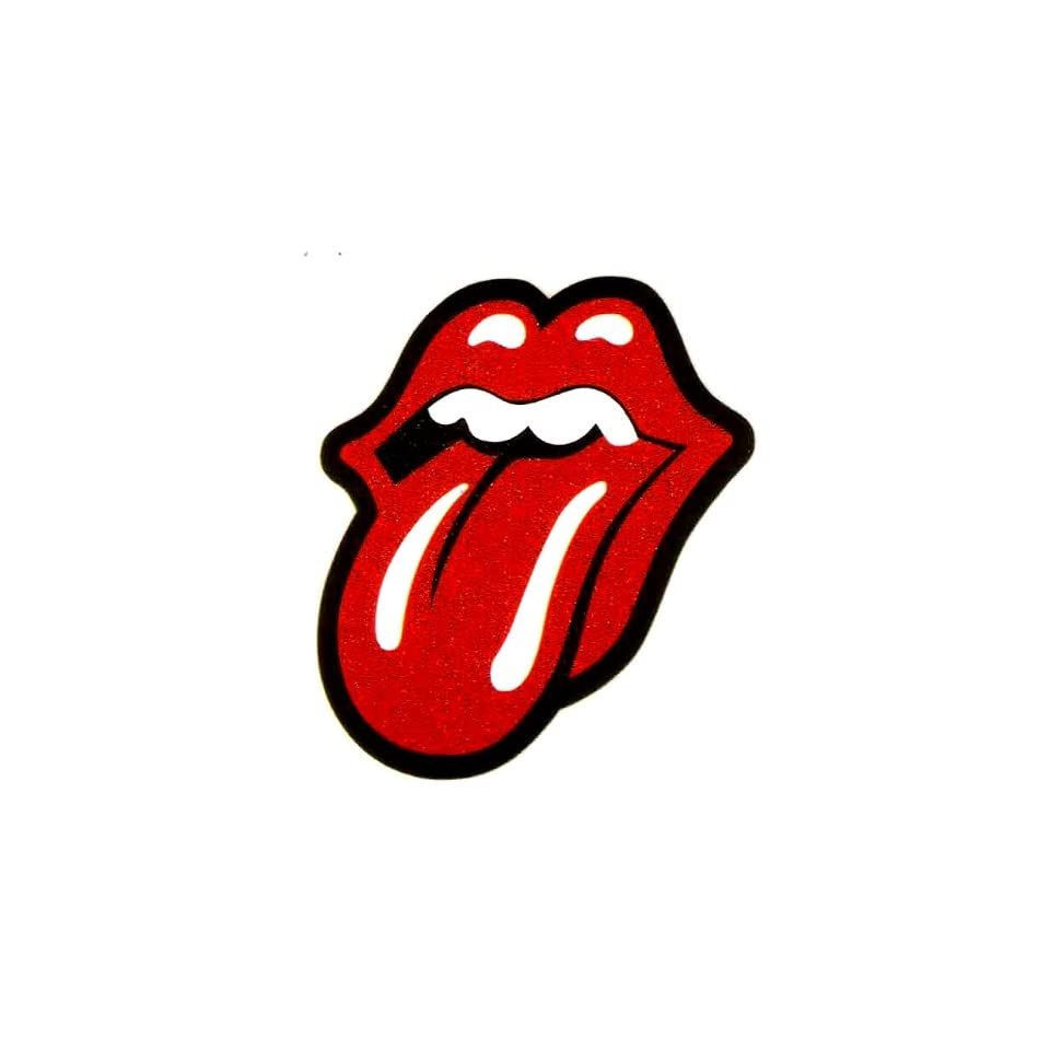 Rolling Stones red lips and tongue logo Iron On Transfer for T Shirt ~ Unite States Flag ~ rock and roll band ~ music
