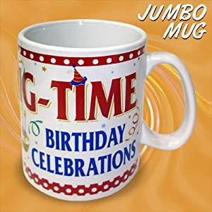 BIRTHDAY CELEBRATIONS Jumbo Mug