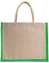 Verdant Globe Eco Friendly Jute Bag,Carry Bag,Travel Bag,Hand Bag, Shopping Bag, Lunch Bag ...