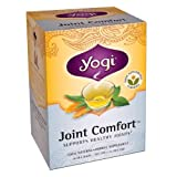 Yogi Joint Comfort, Herbal Tea Supplement, 16-Count Tea Bags (Pack of 6)