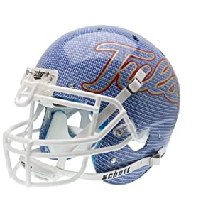 TULSA GOLDEN HURRICANE Schutt AiR XP Full-Size AUTHENTIC Football Helmet (CARBON... by ON-FIELD