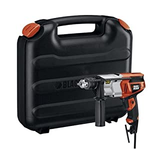 Black & Decker DR650K 6.5 Amp 1/2-Inch Dual Range Hammer Drill with Storage Case