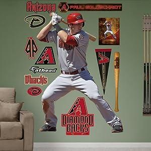 MLB Arizona Diamondbacks Paul Goldschmidt Wall Graphics by Fathead
