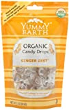 YummyEarth Organic Candy Drops, Ginge…