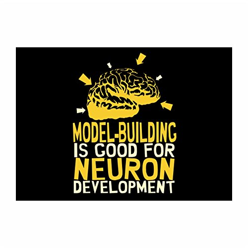 Idakoos - Model Building is good for neuron development - Hobbies - Sticker Pack x4 (Neurons Model compare prices)