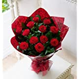Flaberry Rose Passion Bouquet (Bunch Of 12)