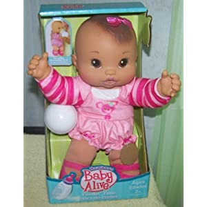 Hasbro Baby Alive FEEDIN TIME NEWBORN Doll on PopScreen