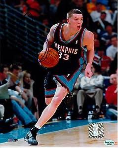 Mike Miller Signed 8x10 Photo SL Authentic Memphis Grizzlies Miami Heat Magic
