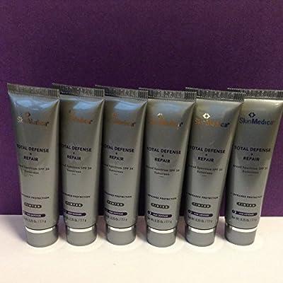 SkinMedica Total Defense + Repair TTinted Broad Spectrum Sunscreen SPF 34 Travel Size 0.25 x 6