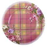 Creative Tops Fine China Katie Alice Highland Fling Tartan Floral Side Plate Multi-Colour