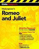 CliffsComplete Romeo and Juliet (0764585746) by William Shakespeare