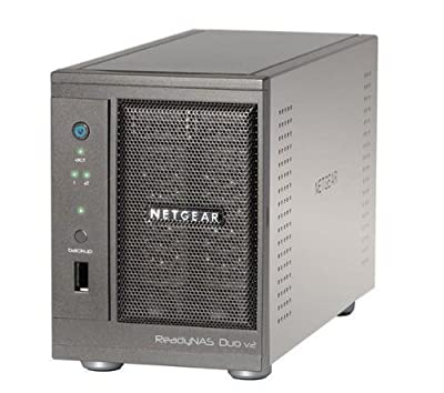 Netgear ReadyNAS Duo 2-Bay No Disk Desktop Network Storage System by Netgear