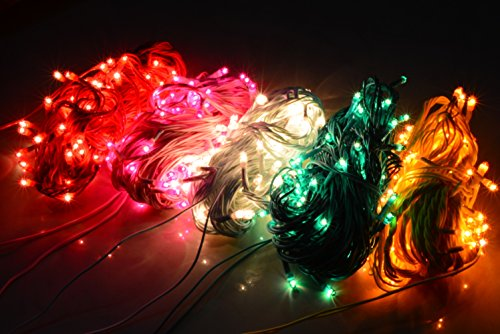 ASCENSION Set Of 4 Rice Lights Serial Bulbs Decoration Lighting For Diwali Christmas
