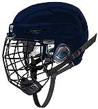 COVERT PXPHC6NVS Warrior Ice Hockey Players Helmet, Navy, Small