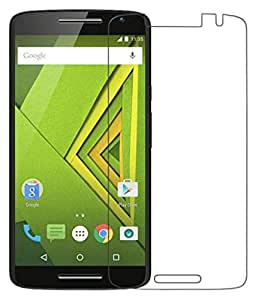 Motorola Moto X Play Compatible Tempered Glass Screen Protector (Antishock, Curved Edged) (Pack of 2, Only Front Transparent Screen Protector) (Combo Offer, get a VJOY 2600 mAh Power-Bank PINK (1 Year Replacement Guarantee, Lithium Polymer Battery, Long Battery-Life) worth Rupee 999/- absolutely free with Screen Protector)