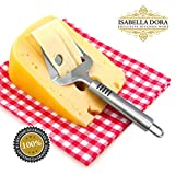 Isabella Dora Cheese Slicer - Best Stainless Steel Manual Plane