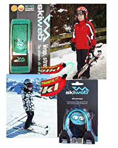 Amazon.com : Kids Ski Carrier & Ski Wedgie Clip : Ski Bags