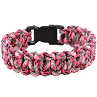 Gorilla Paracordยฎ Cobra Survival 550 Paracord Bracelet