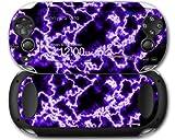 Sony PS Vita Skin Electrify Purple by WraptorSkinz