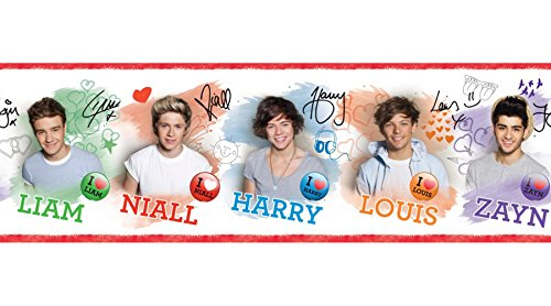One Direction BO50012 Peel and Stick Border (Niall Merchandise compare prices)
