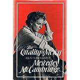 Quality of Mercy Inscribed ~ Mercede Mccambridge