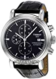 Tissot T-Classic Carson Chronograph Automatic Black Dial Mens Watch T0684271605100
