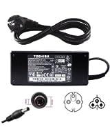 Chargeur alimentation de PC ordinateur portable 19V Toshiba Notebook A200 A300 A350 A660 L300 L300D L350 C660D L500 L500D L505 L505D L550 L550D L555 L630 L650 L650D L670 L670D Series, Satellite Pro C660 L500 L550 L650 L670 Series, PA3715E-1AC3 Medion Acer Toshiba HP ASUS